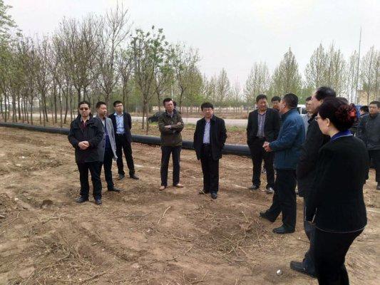 2018年3月18日德成恒业山东生产基地破土动工